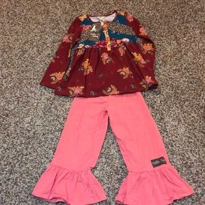 Matilda Jane outfit!Shirt is NWT and pants VGUC